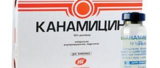 Канамицин - инструкция , рецепт